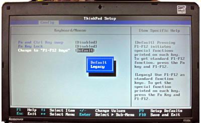 Windows10でThinkPad Edge E530cのバイオスへ – すきっぷのメモ